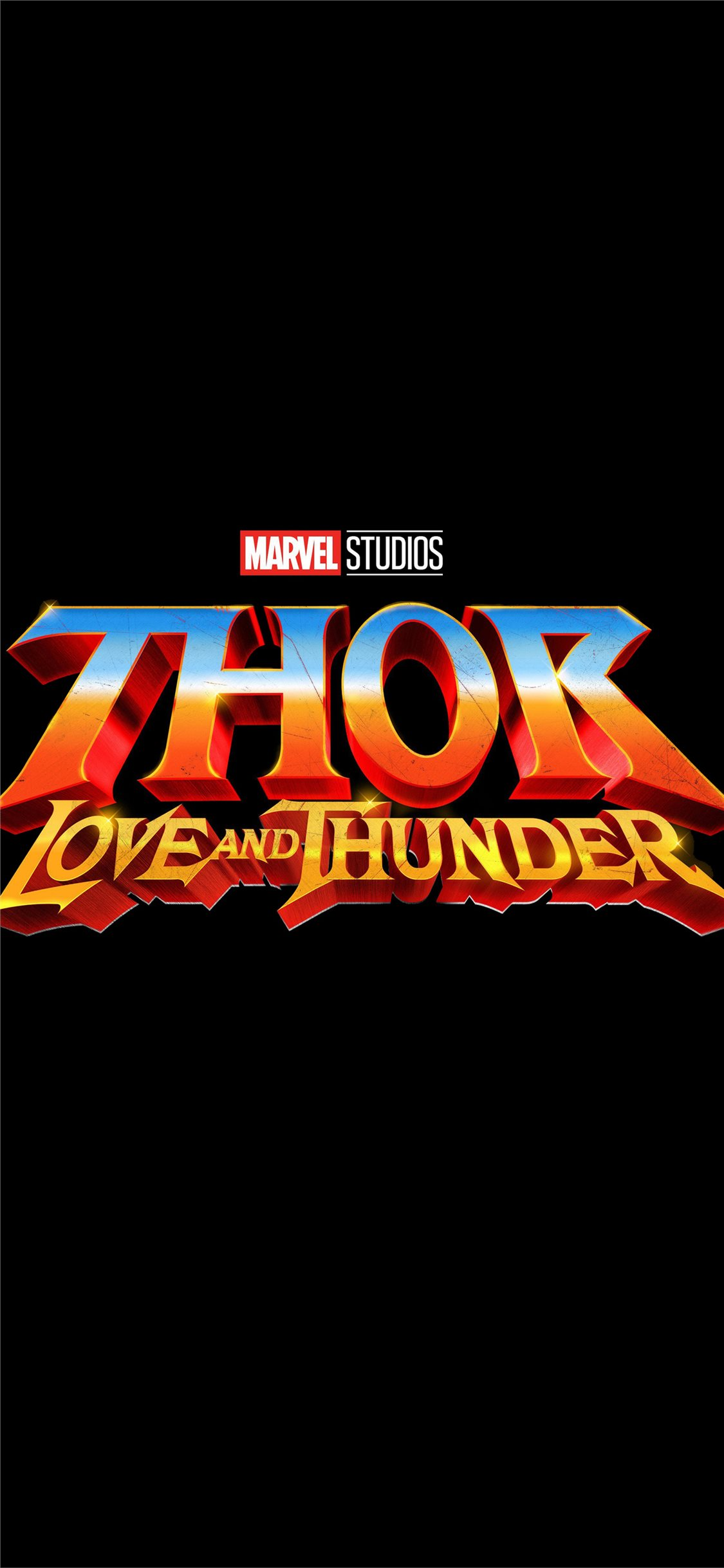 Thor Love And Thunder 2021 Iphone X Wallpapers Free Download