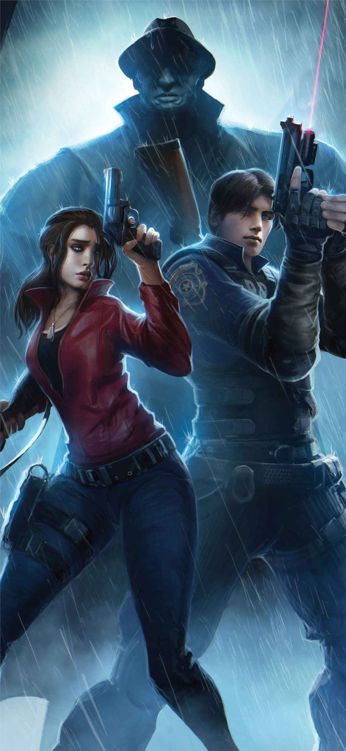 Resident Evil Claire Redfield Chris Redfield 4k Ar Iphone