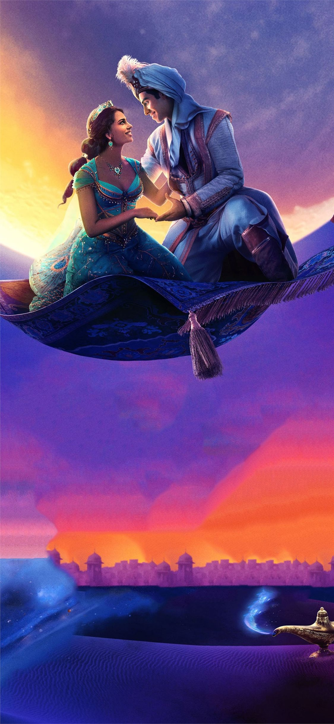 aladdin 2019 4k movie iPhone X Wallpapers Free Download