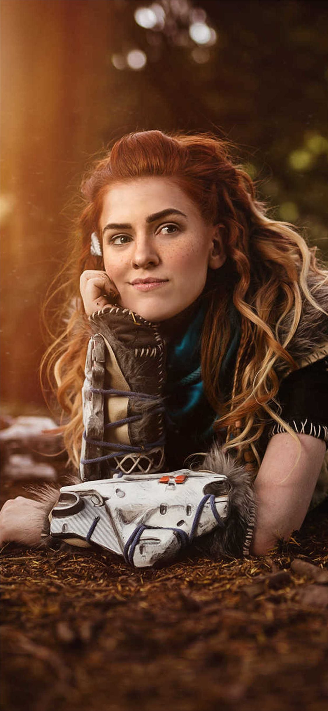 Aloy From Horizon Zero Dawn Cosplay Iphone X Wallpapers Free Download