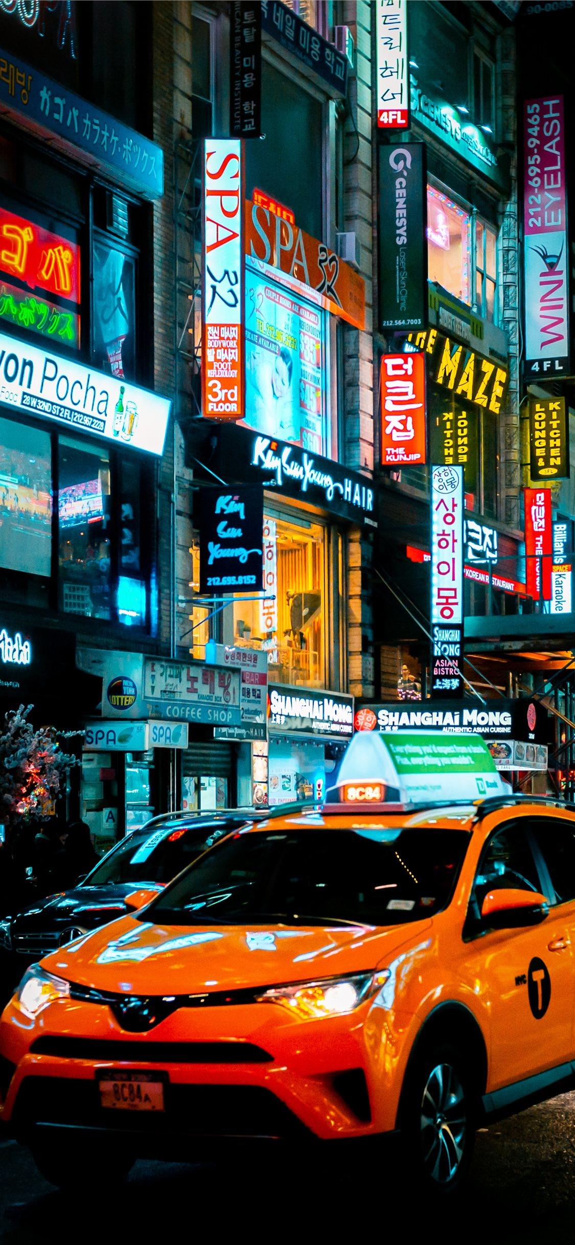 Koreatown Nyc David Wa Iphone X Wallpapers Free Download