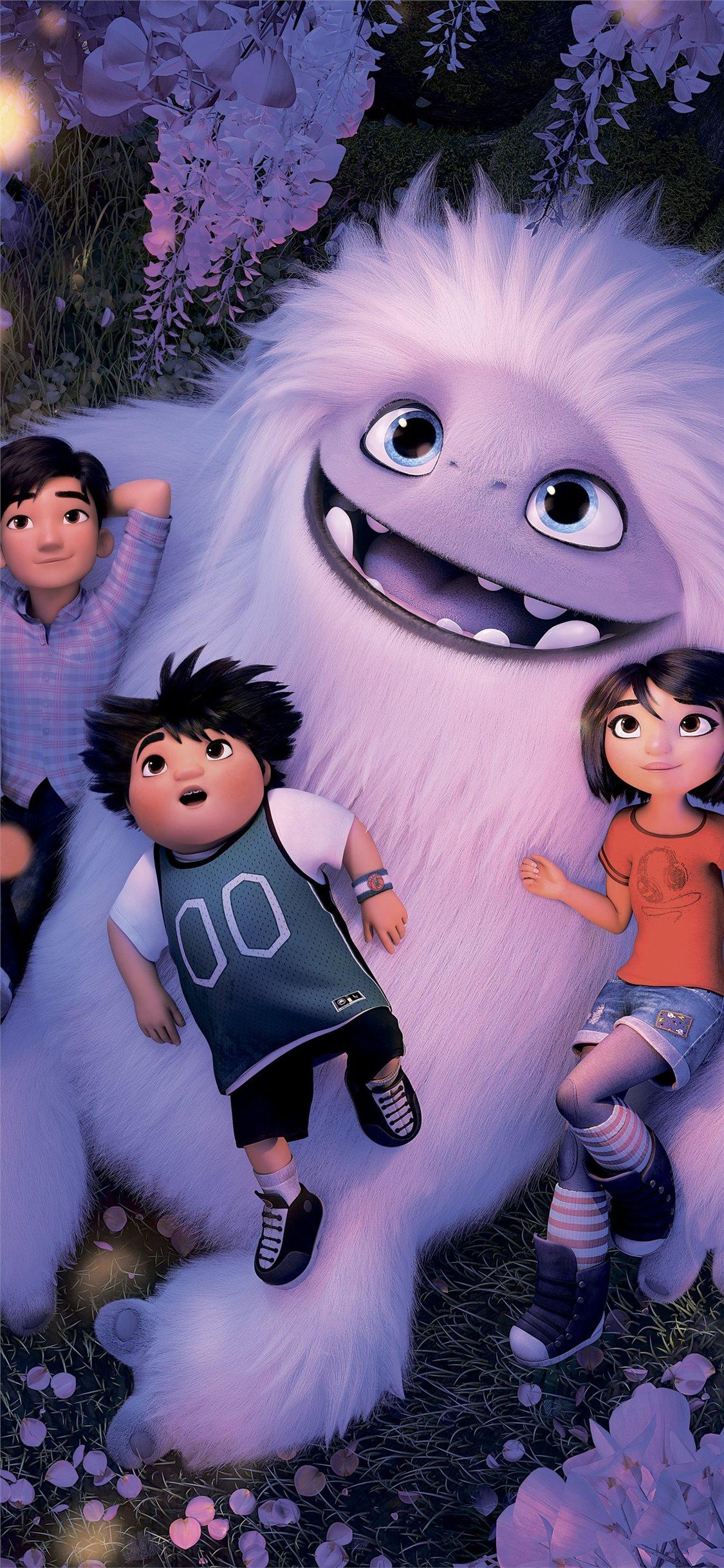 abominable animated movie 8k iPhone X