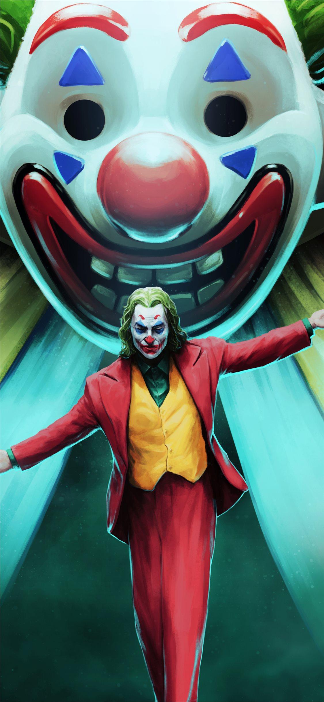 Joker Movie Art Iphone X Wallpapers Free Download