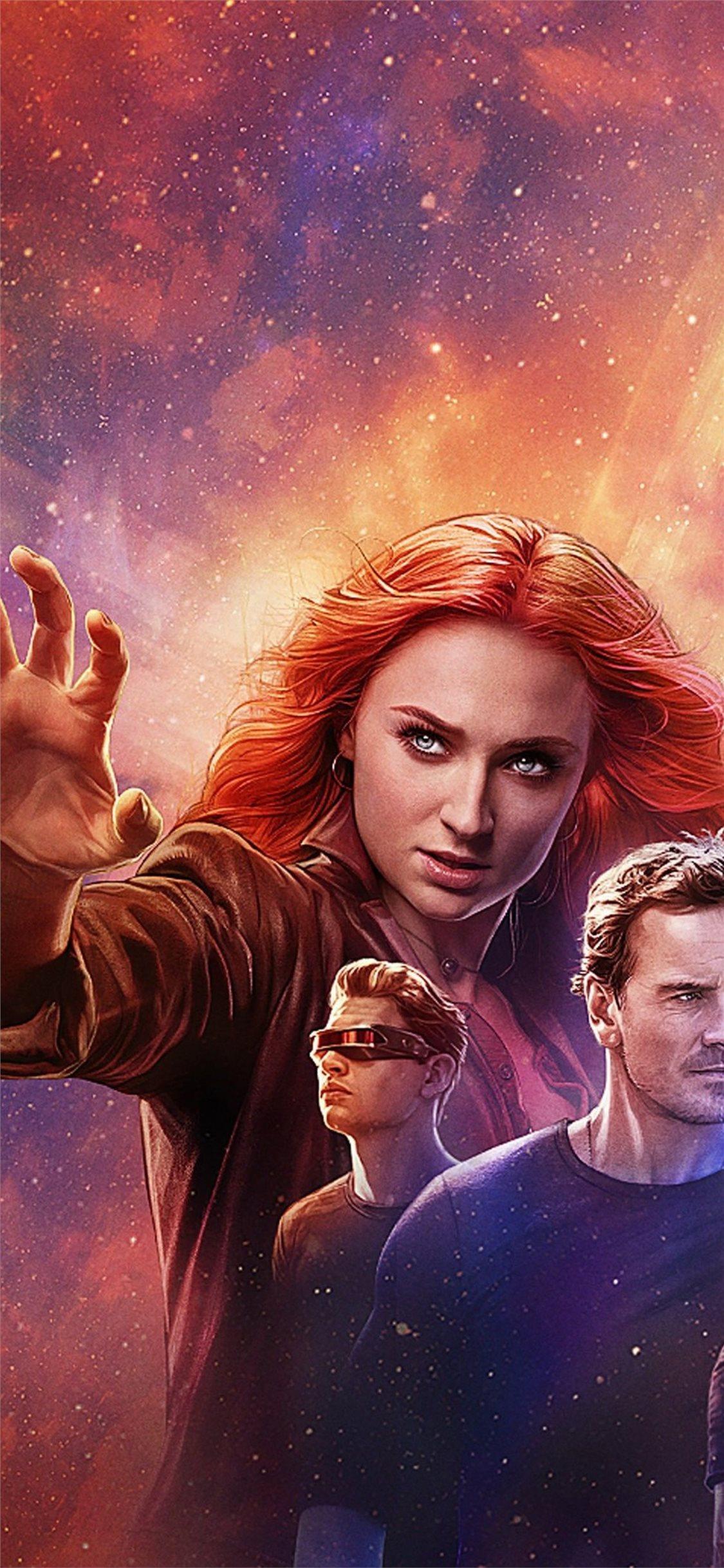 X Men Dark Phoenix 4k 2019 Poster Iphone X Wallpapers Free