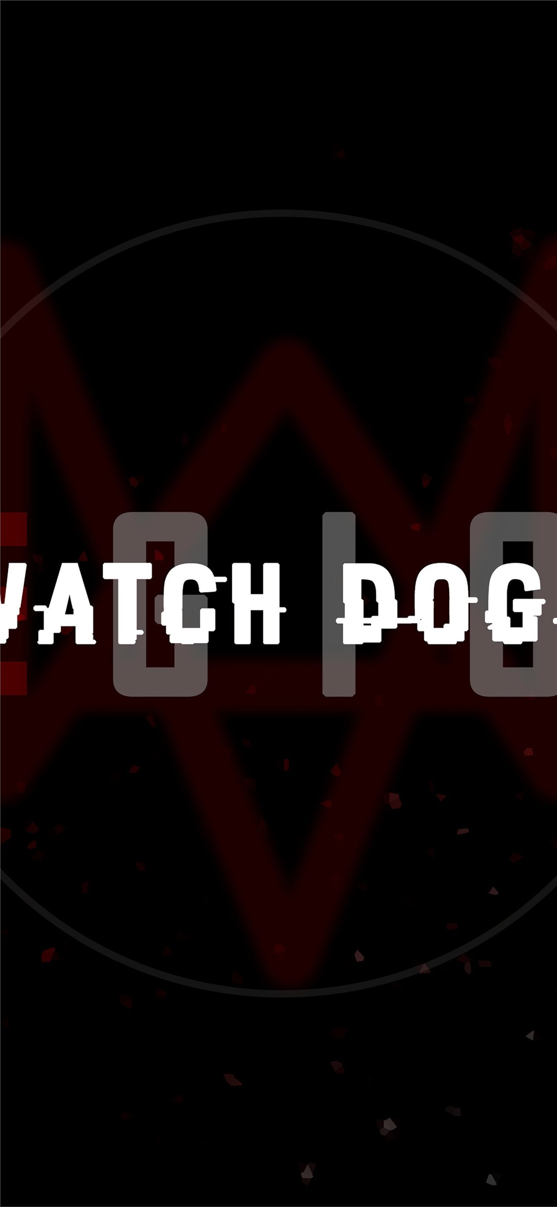 Watch Dogs Legion Logo 5k Iphone X Wallpapers Free Download