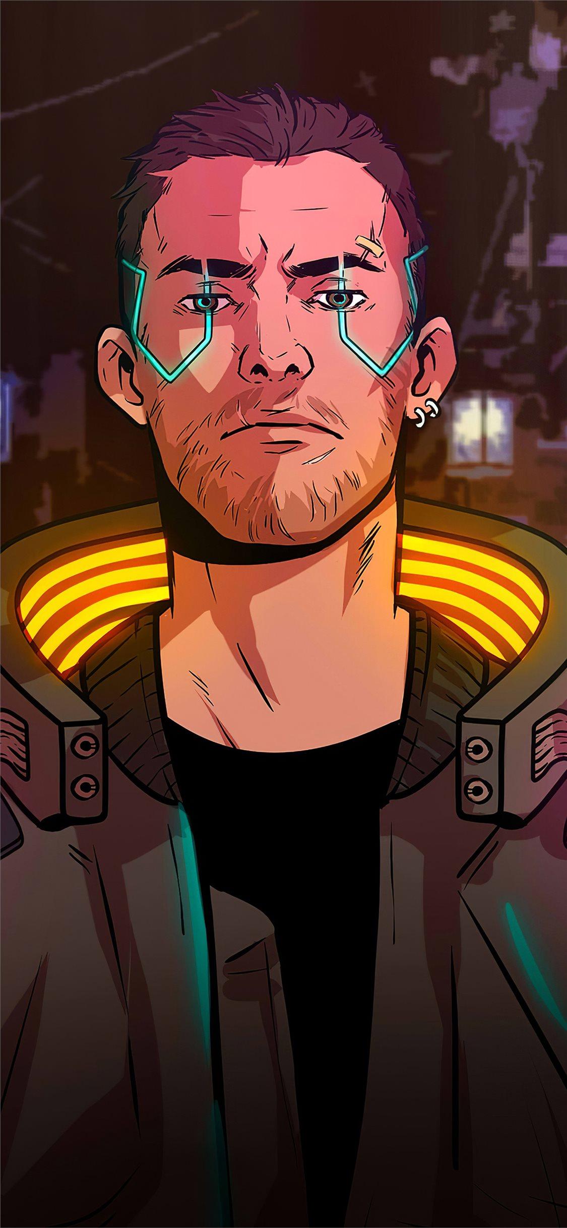 Cyberpunk 2077 Boy 5k Iphone X Wallpapers Free Download