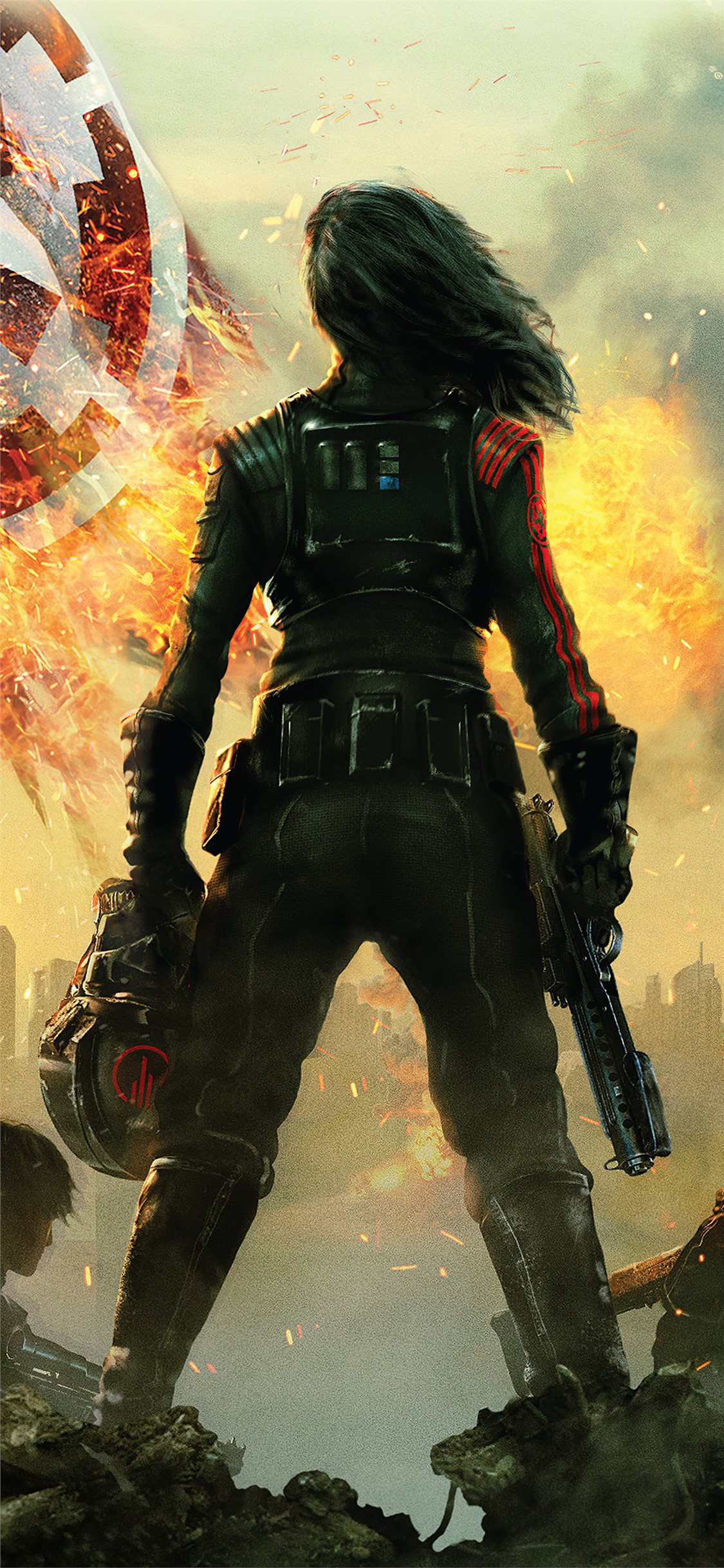 star wars battlefront ii inferno squad 4k iphone x wallpaper ilikewallpaper com