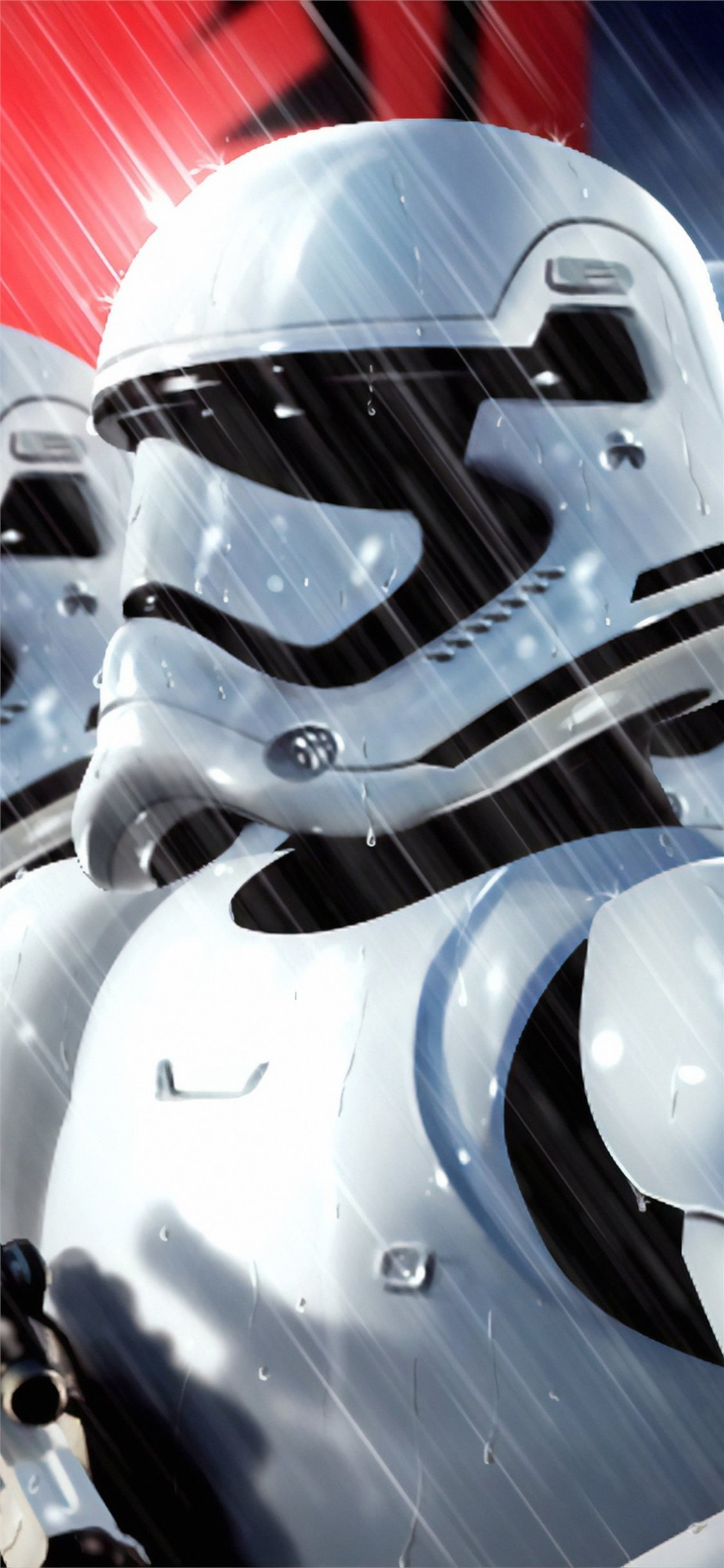 stormtroopers 4k art iPhone X