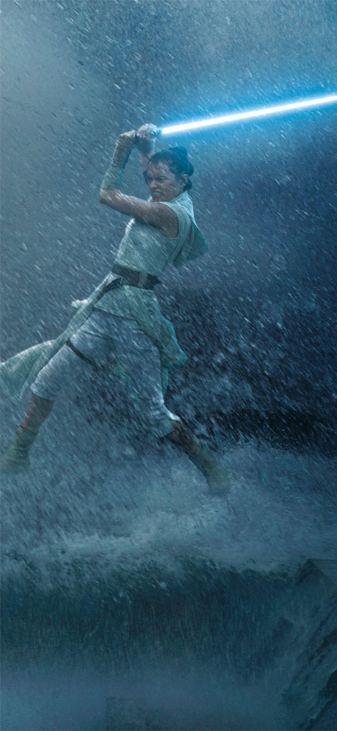 Rey Vs Kylo Ren Star Wars The Rise Of Skywalker Iphone X