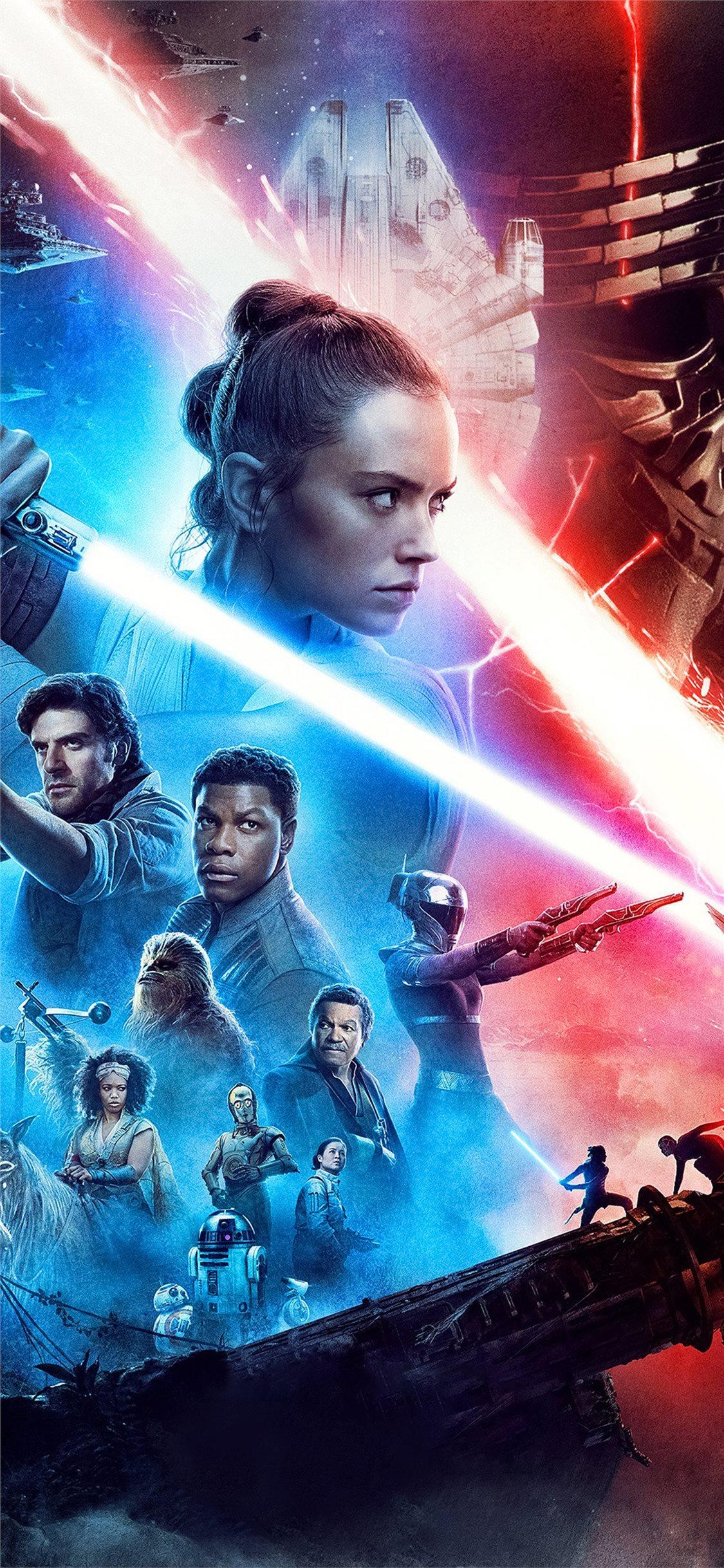 Best Star Wars The Rise Of Skywalker Iphone X Wallpapers Hd 2020 Ilikewallpaper