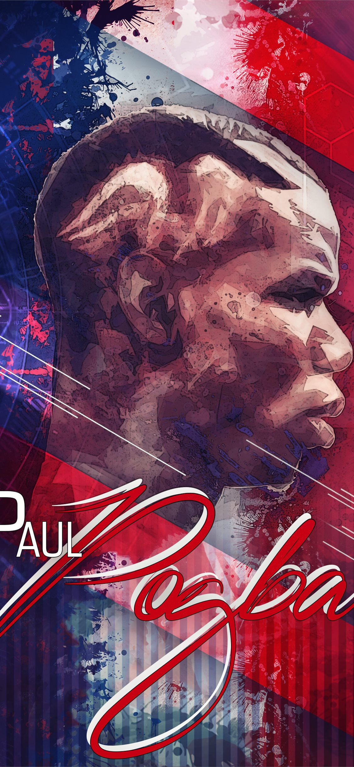 Paul Pogba Manchester United Iphone X Wallpapers Free Download