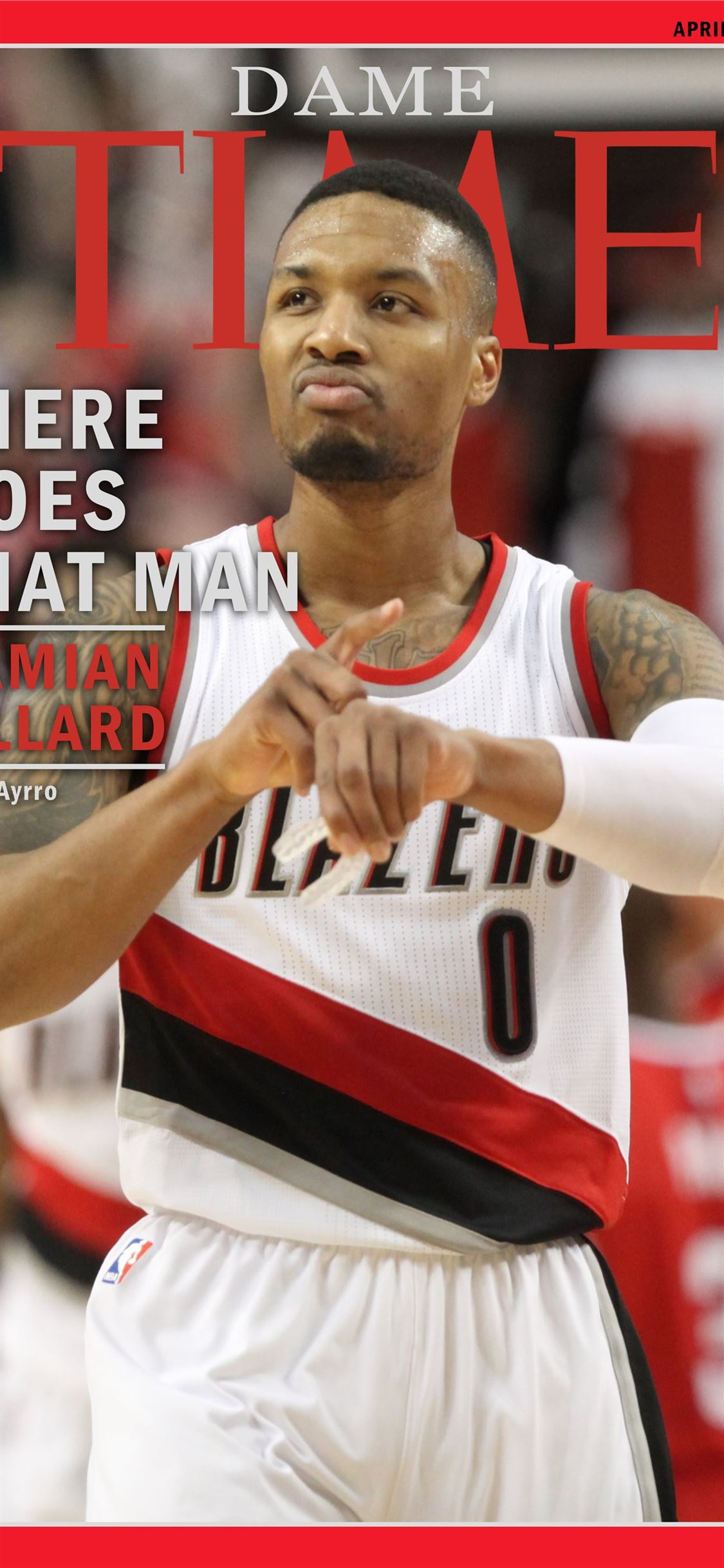 Time Magazine Cover ripcity iPhone X