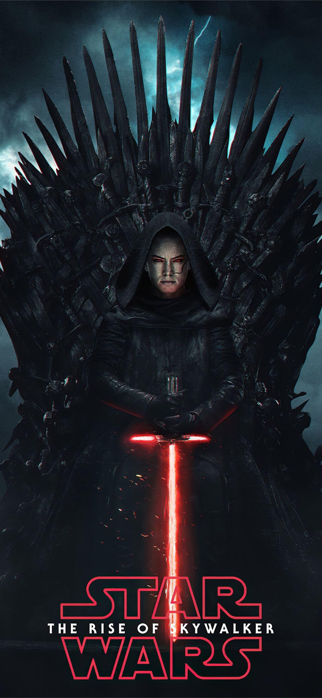Dark Rey Starwars Iphone X Wallpapers Free Download