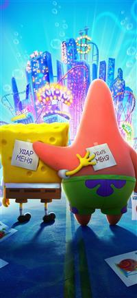 The Spongebob Movie Sponge On The Run 4k Iphone X Wallpapers Free