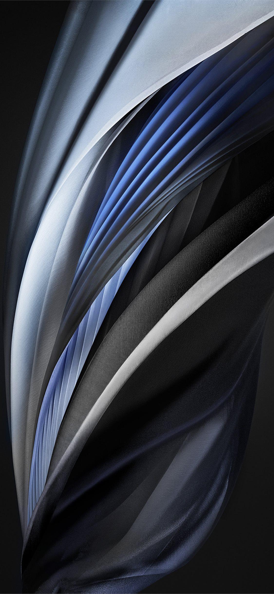 Iphone Se 2020 Stock Wallpaper Silk Silver Mono Light Iphone X