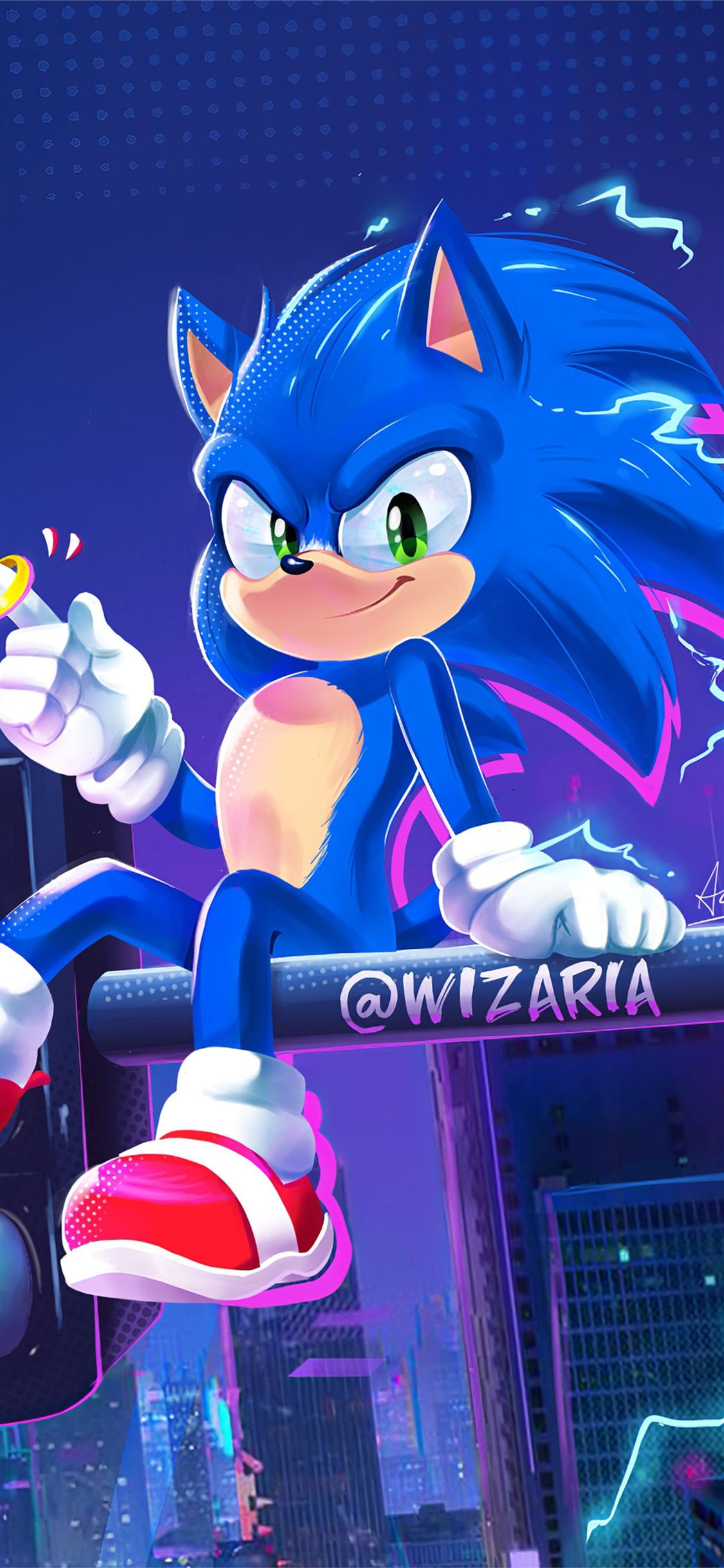 Into The Sonic Verse 4k Iphone X Wallpapers Free Download