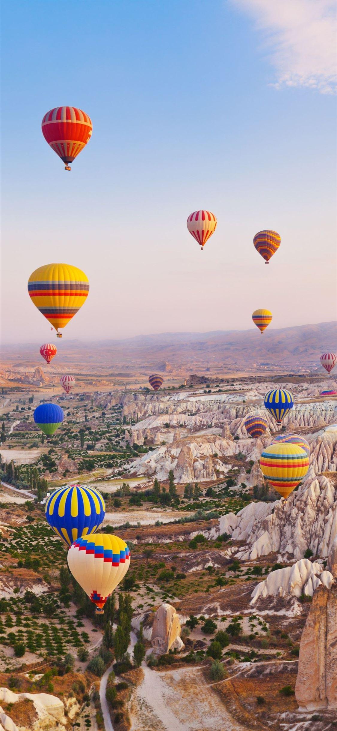 Cappadocia Hot Air Balloon Ride Bucket List Balloo Iphone X Wallpapers Free Download