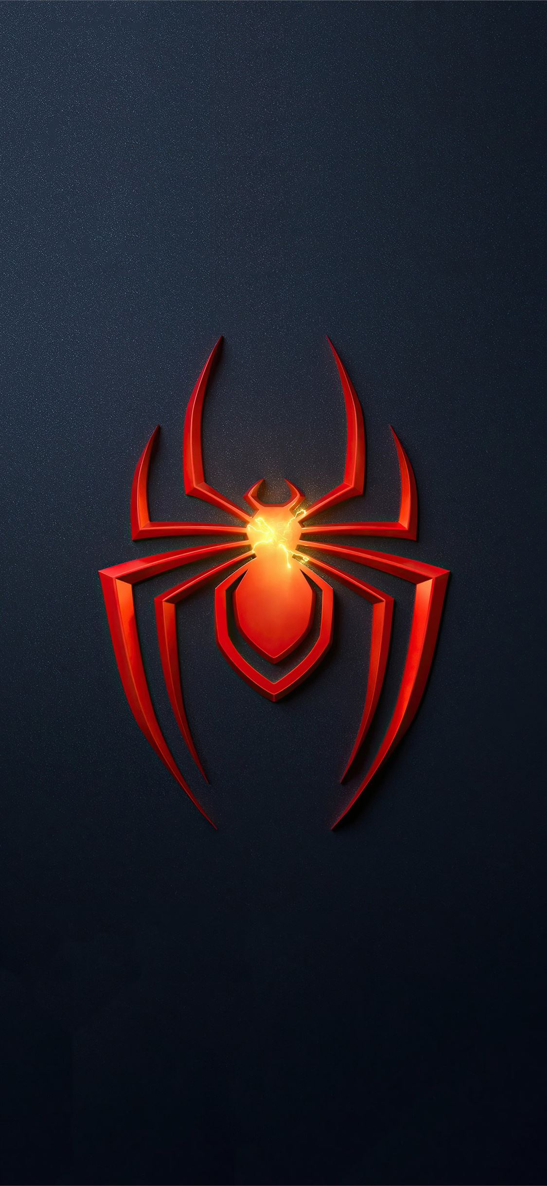 Spider Man Miles Morales Ps5 Game Logo 4k Iphone X Wallpapers Free Download