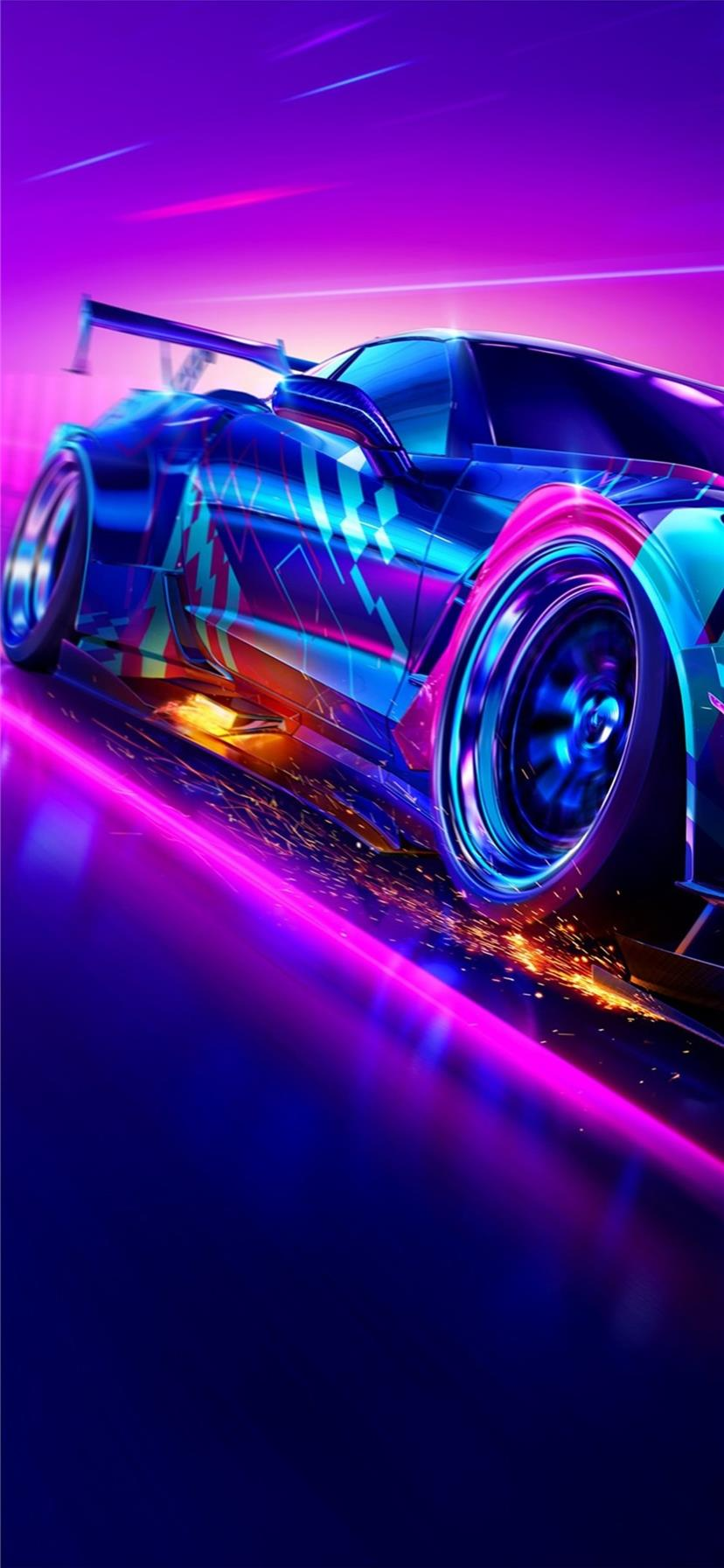 need for speed heat 2019 4k iPhone X Wallpapers Free Download