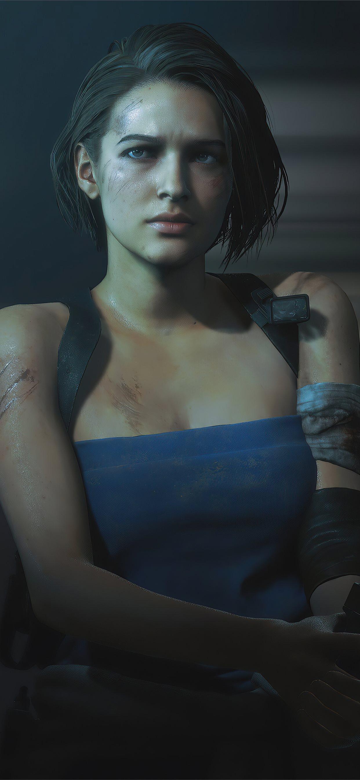 V For Valentine Resident Evil 3 Remake 4k Iphone X Wallpapers Free