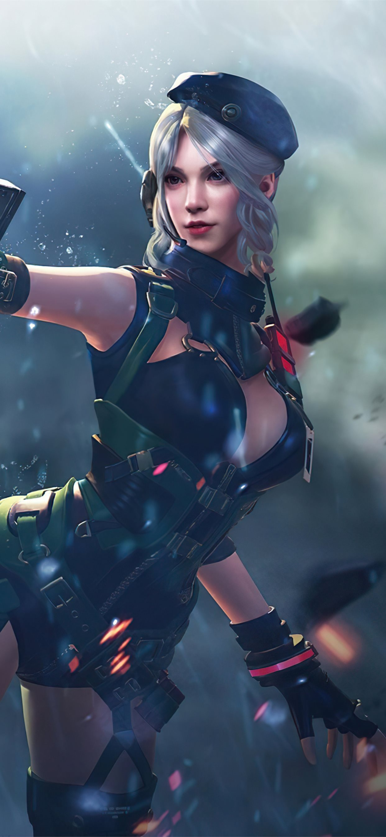 Garena Free Fire 4k 2020 Iphone X Wallpapers Free Download