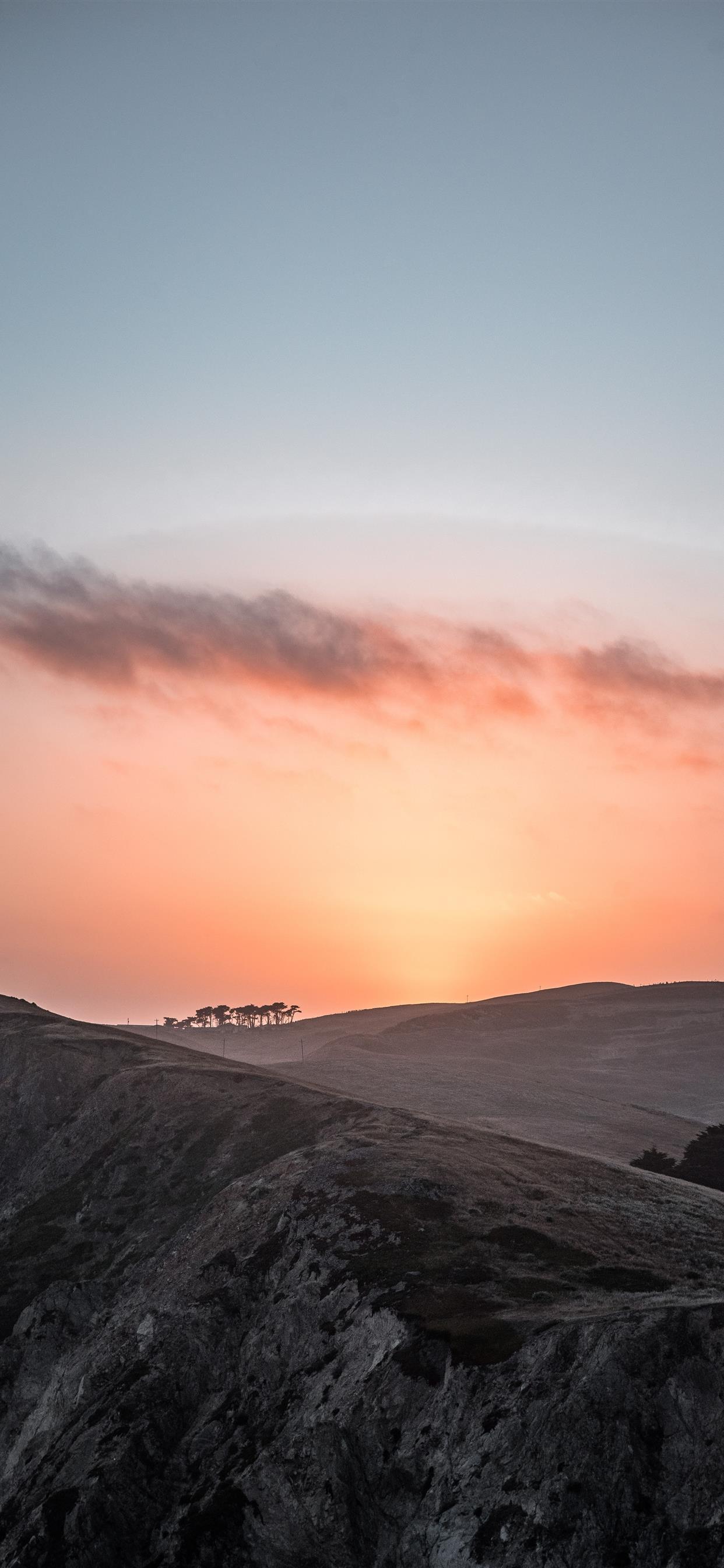 Soft Sunset iphone xs max wallpaper