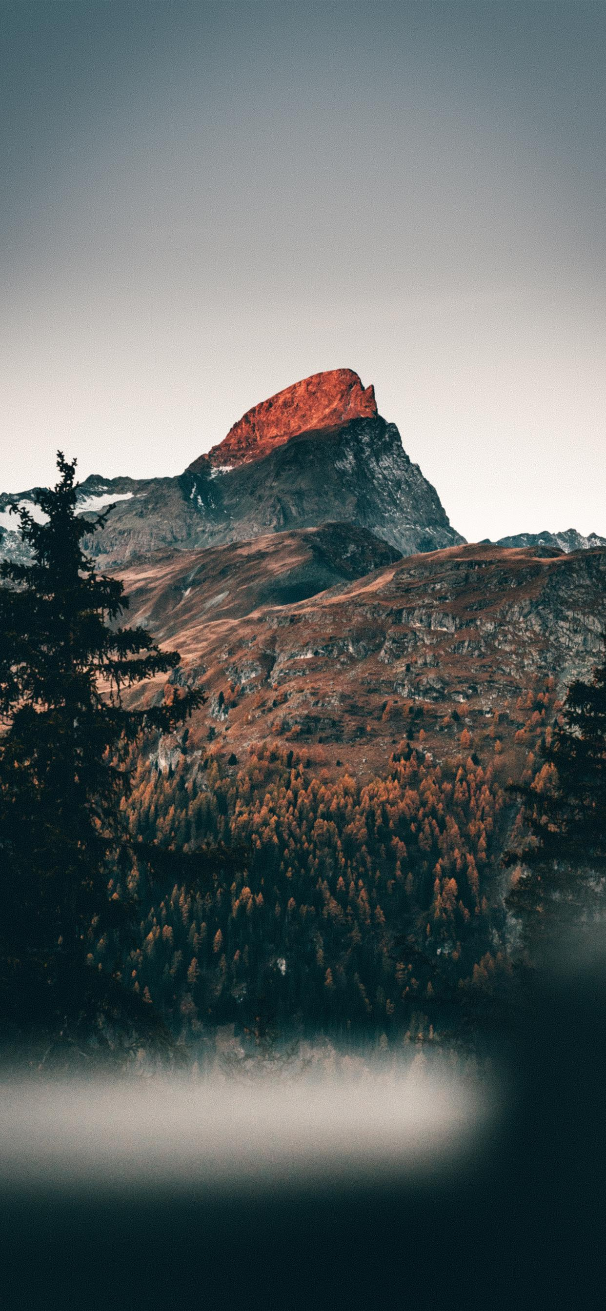 Cold Mornings In The Mountains Iphone Wallpapers Free Download