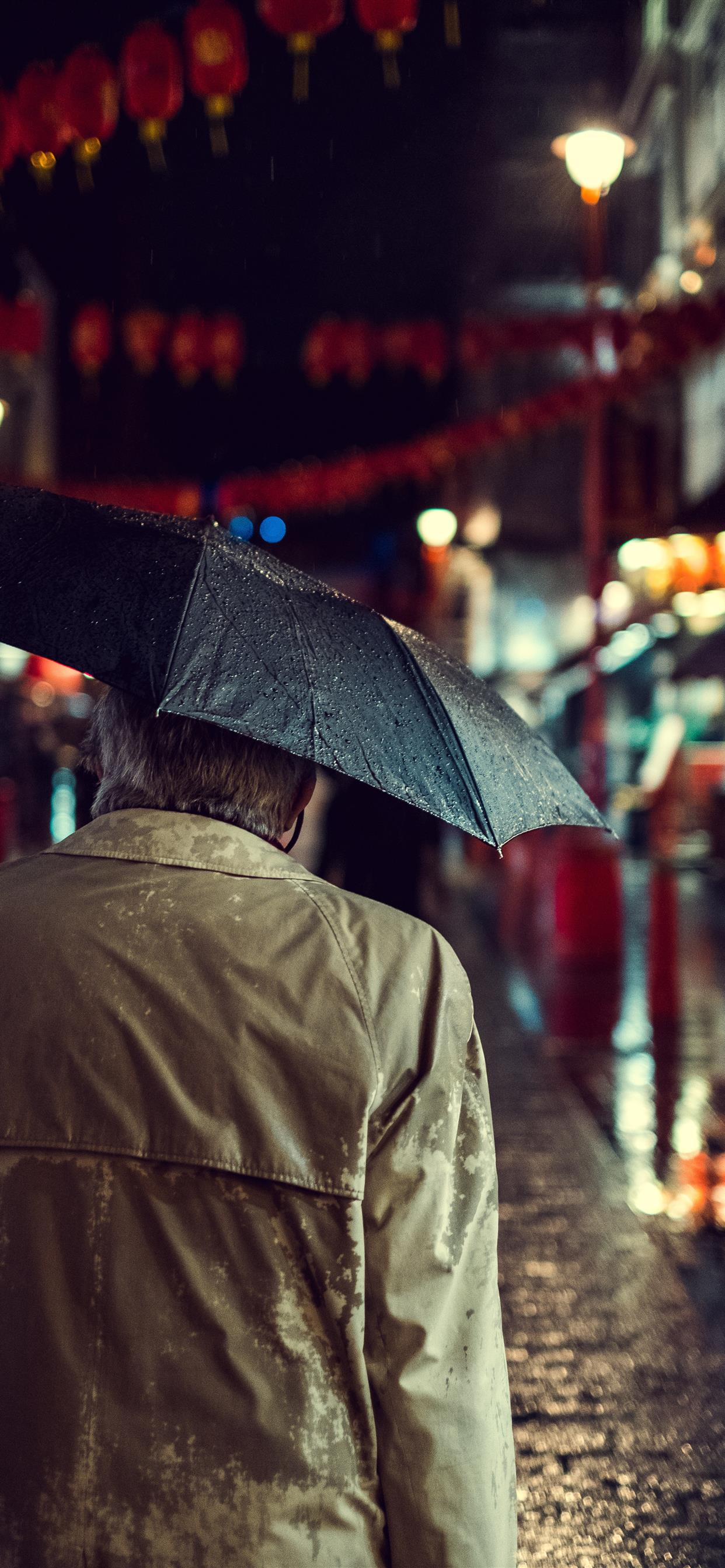 Chinatown Rain Iphone Wallpapers Free Download