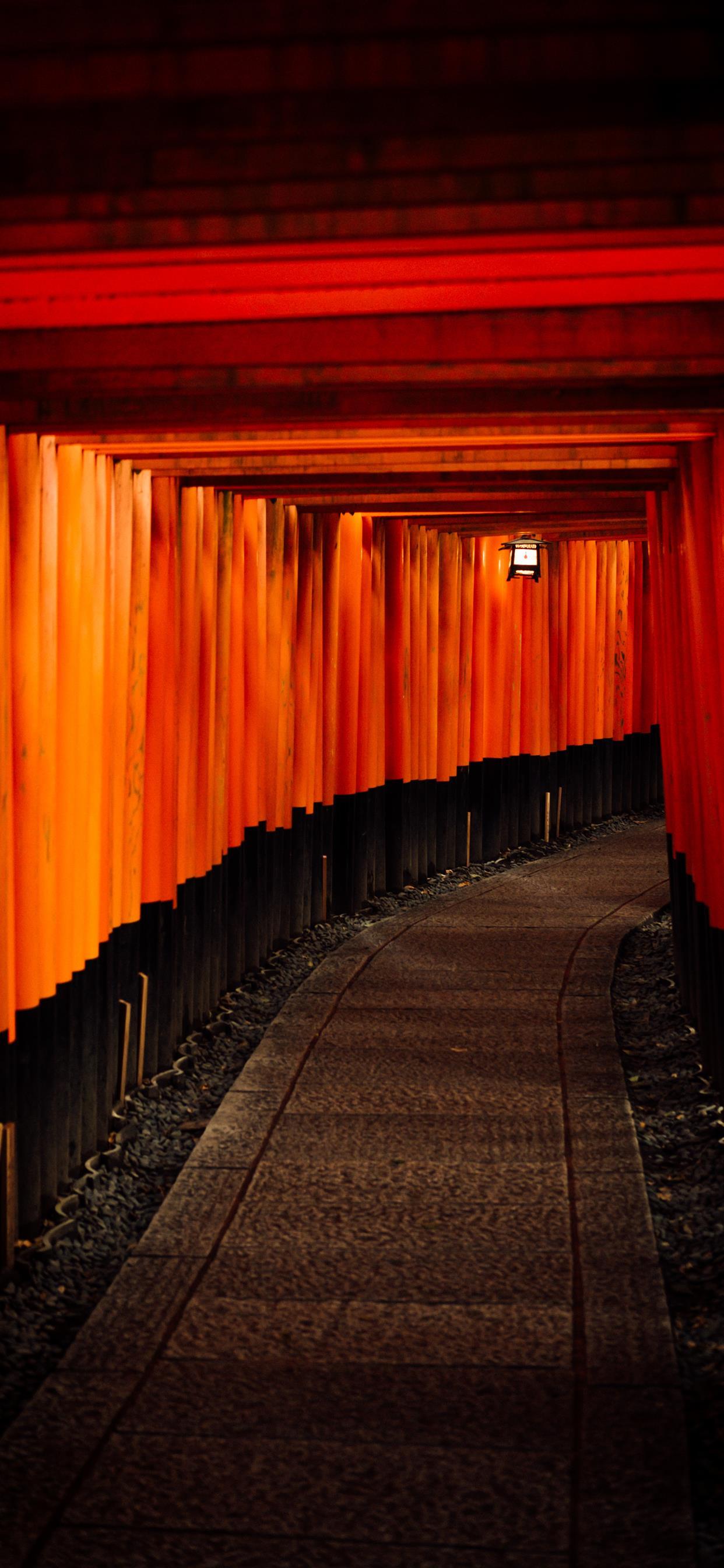 Fushimi Inari Taisha Kyoto Japan Iphone X Wallpapers Free Download