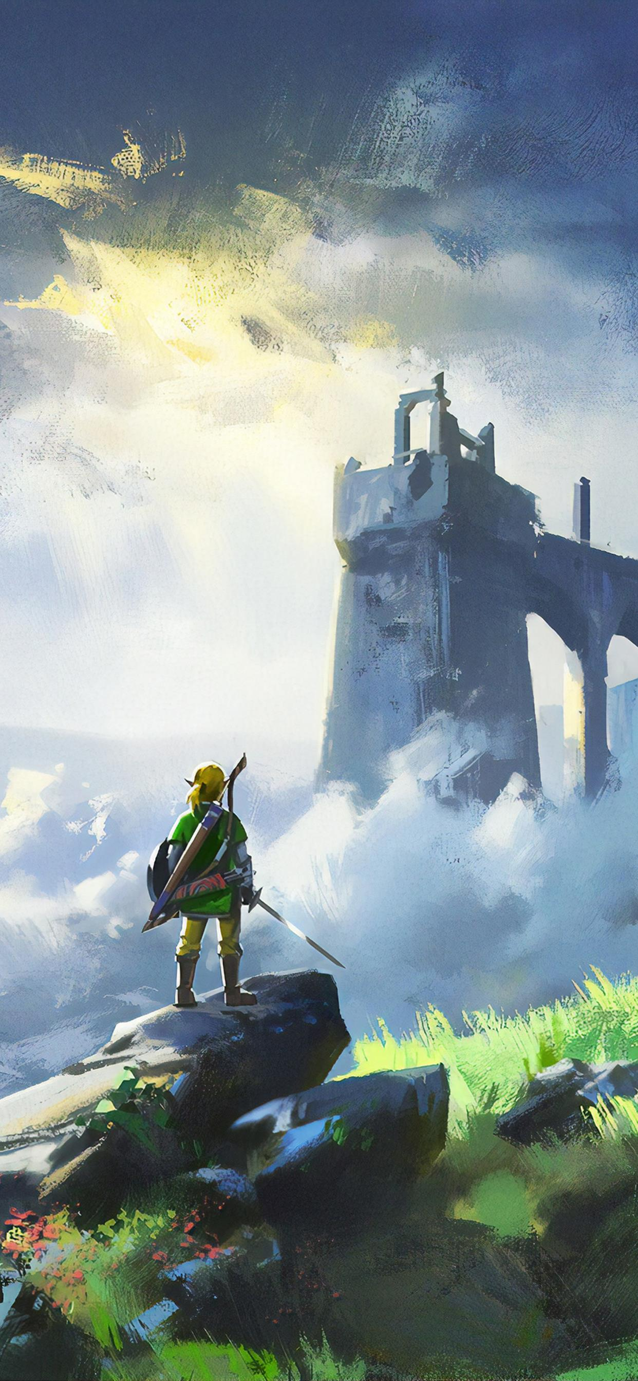 The Legend Of Zelda Breath Of Wild Game 4k Iphone Wallpapers