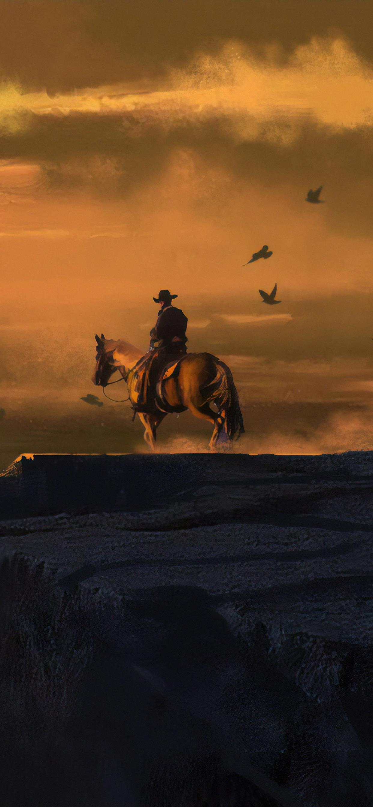 red dead redemption 4k landhscape iPhone X Wallpapers Free ...