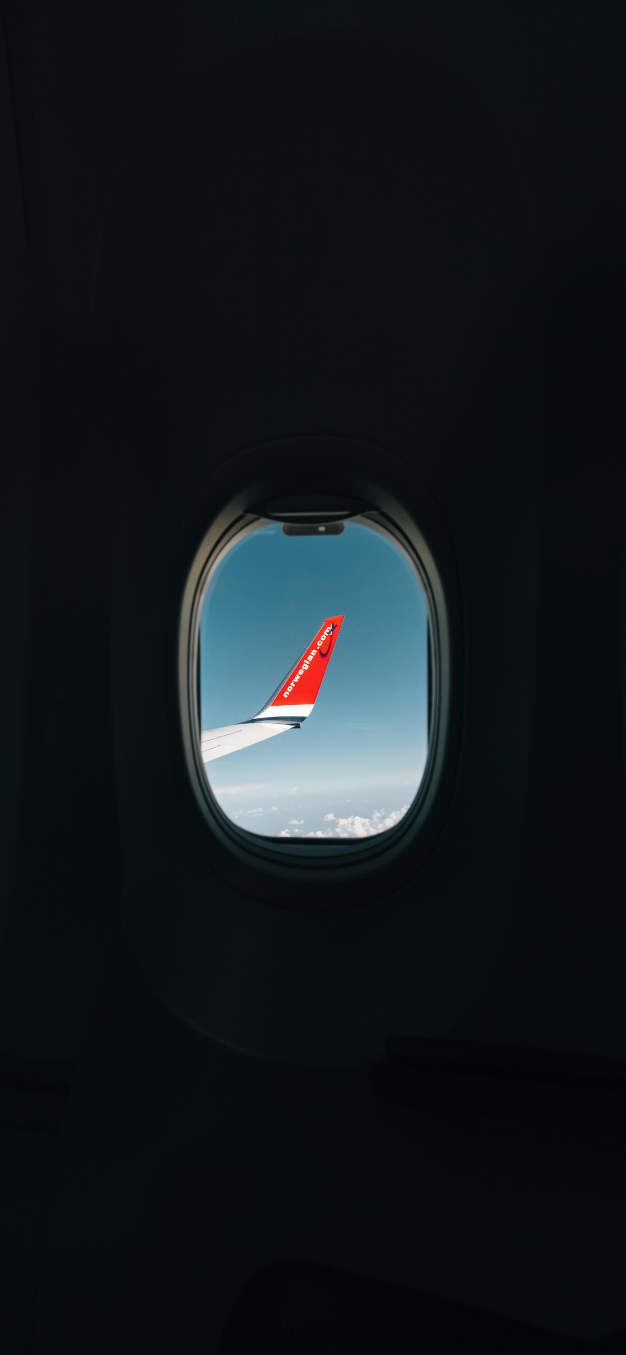 airplane window wallpaper iphone