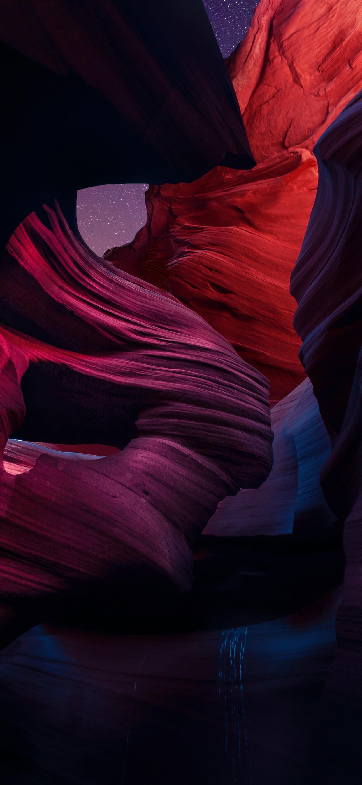 brown rock formation digital wallpaper iphone xs max wallpaper