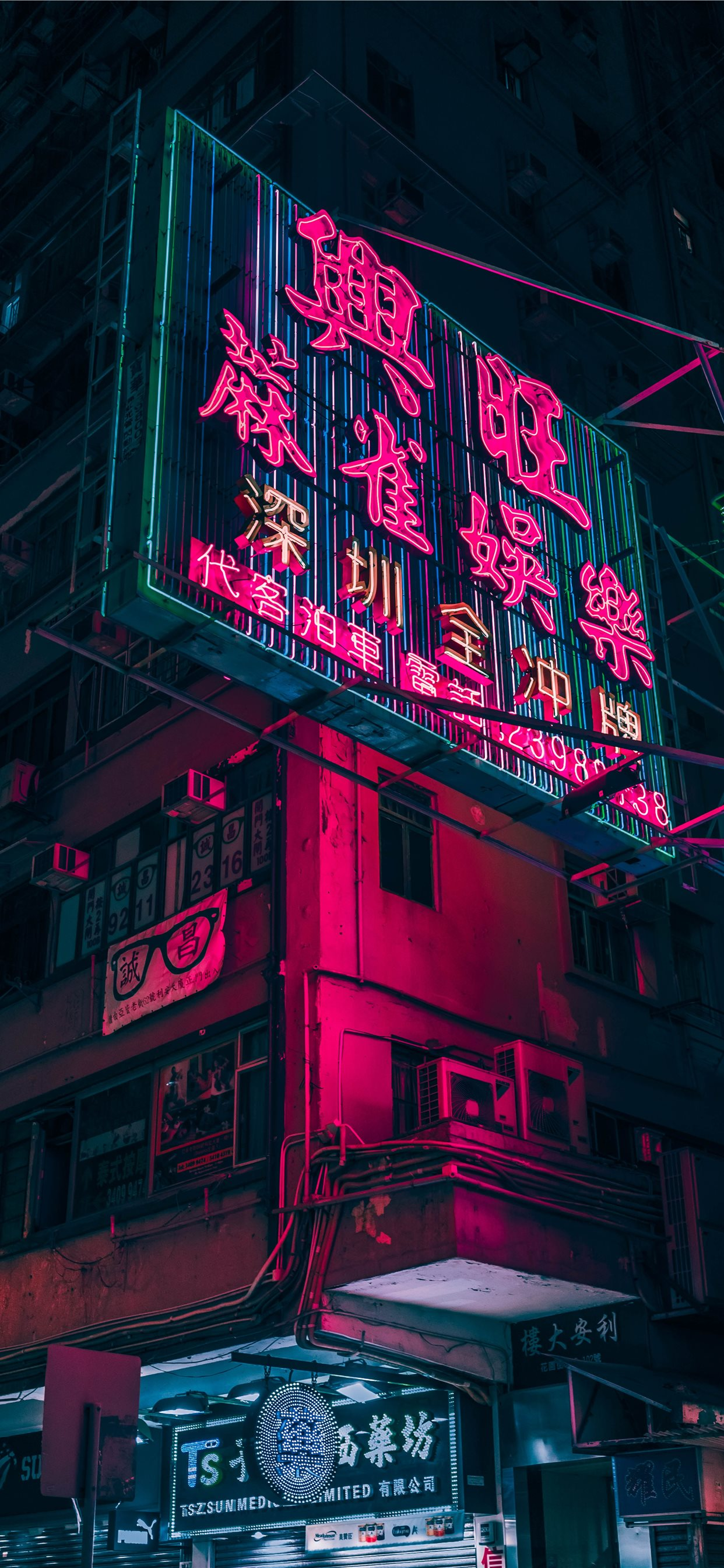 Closeup Photo Of Red And Black Lighted Signage Iphone X Wallpapers Free Download
