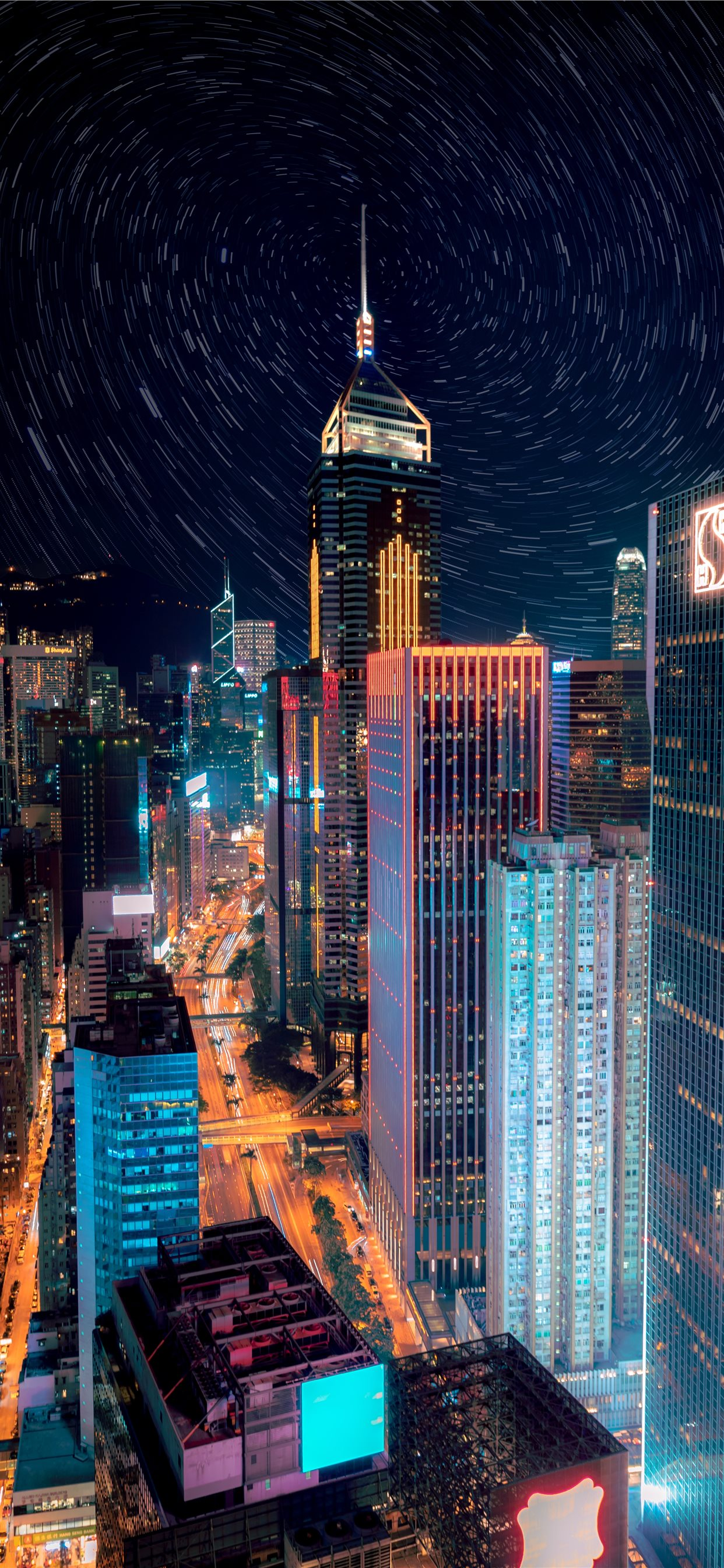 New York City During Nighttime Iphone Wallpapers Free Download