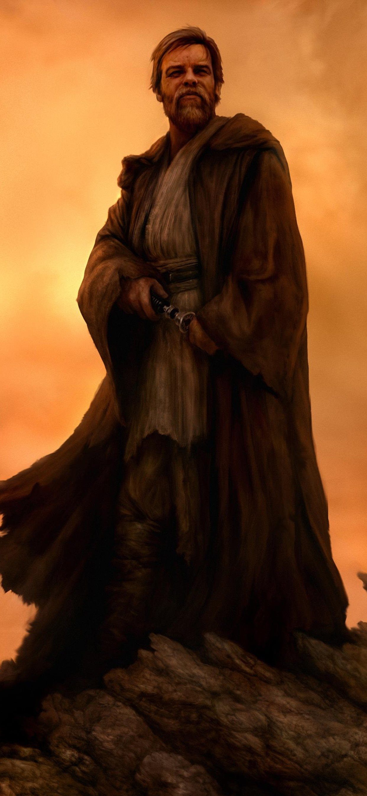 Obi Wan Kenobi Star Wars 4k Iphone X Wallpapers Free Download
