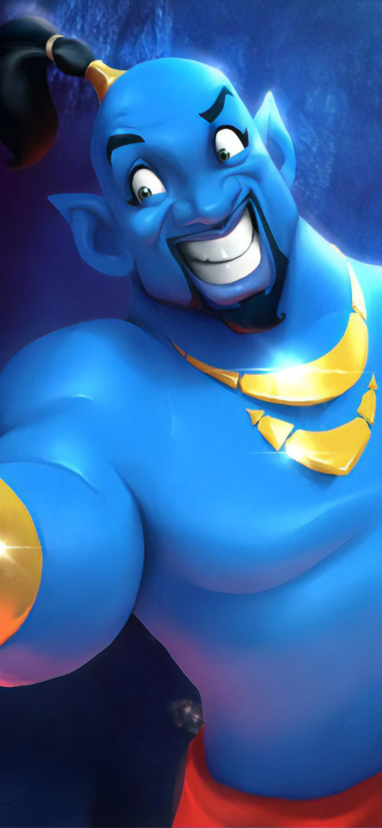 Will Smith As Genie Cartoon Art Iphone Wallpapers Free Download