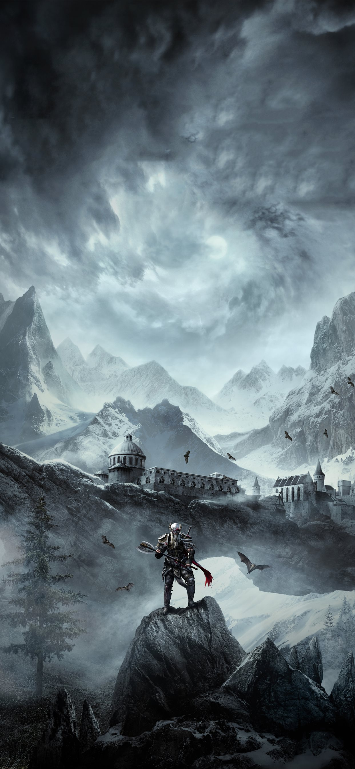 The Elder Scrolls Online Greymoor 5k Iphone Wallpapers Free Download