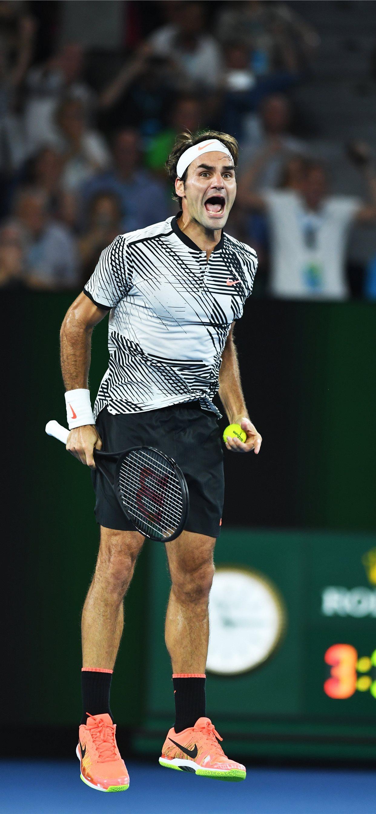 Australian Open 2017 Men S Final Roger Federer V R Iphone Wallpapers Free Download