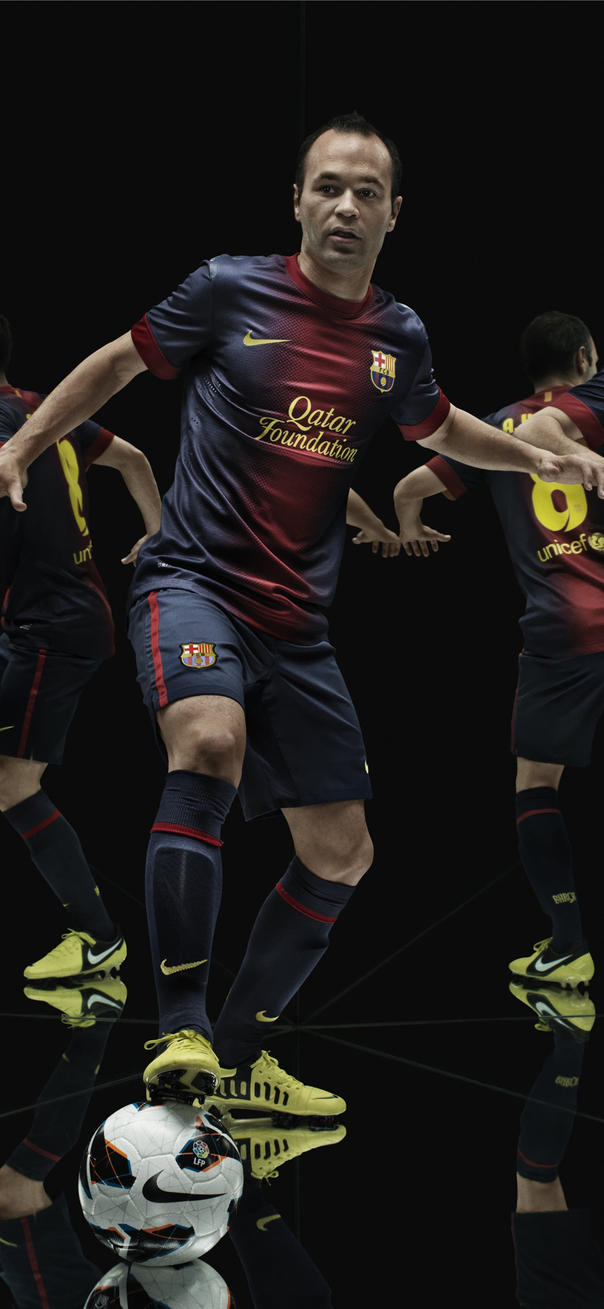Andres Iniesta Barca Fc Barcelona Sony Xperia X Xz Iphone Wallpapers Free Download