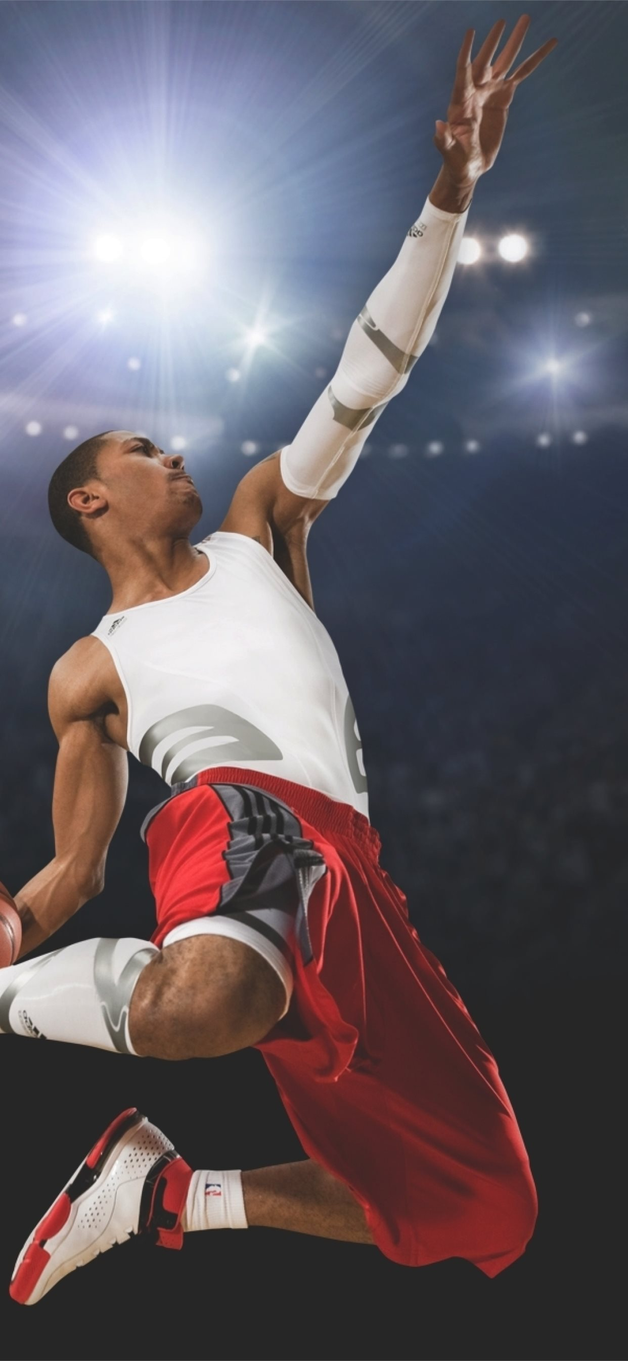 derrick rose slam dunk basketball ...