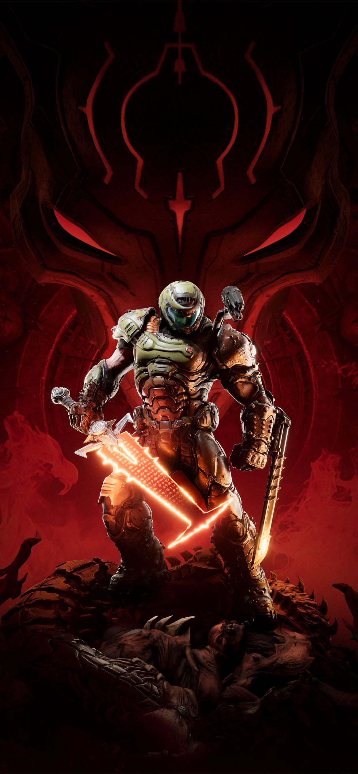 Doom Eternal 5k Game Iphone X Wallpapers Free Download