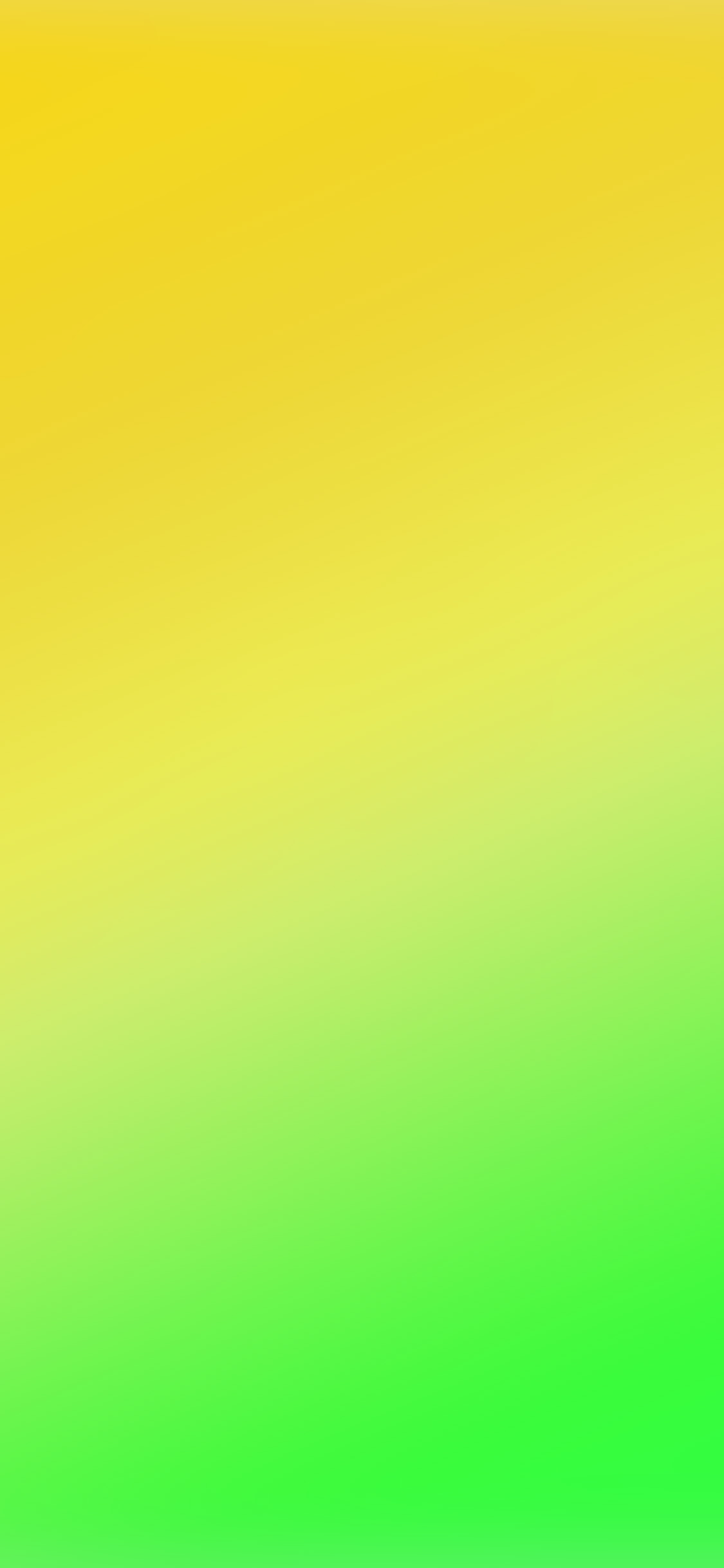 Yellow Green Blur Gradation Iphone X Wallpapers Free Download