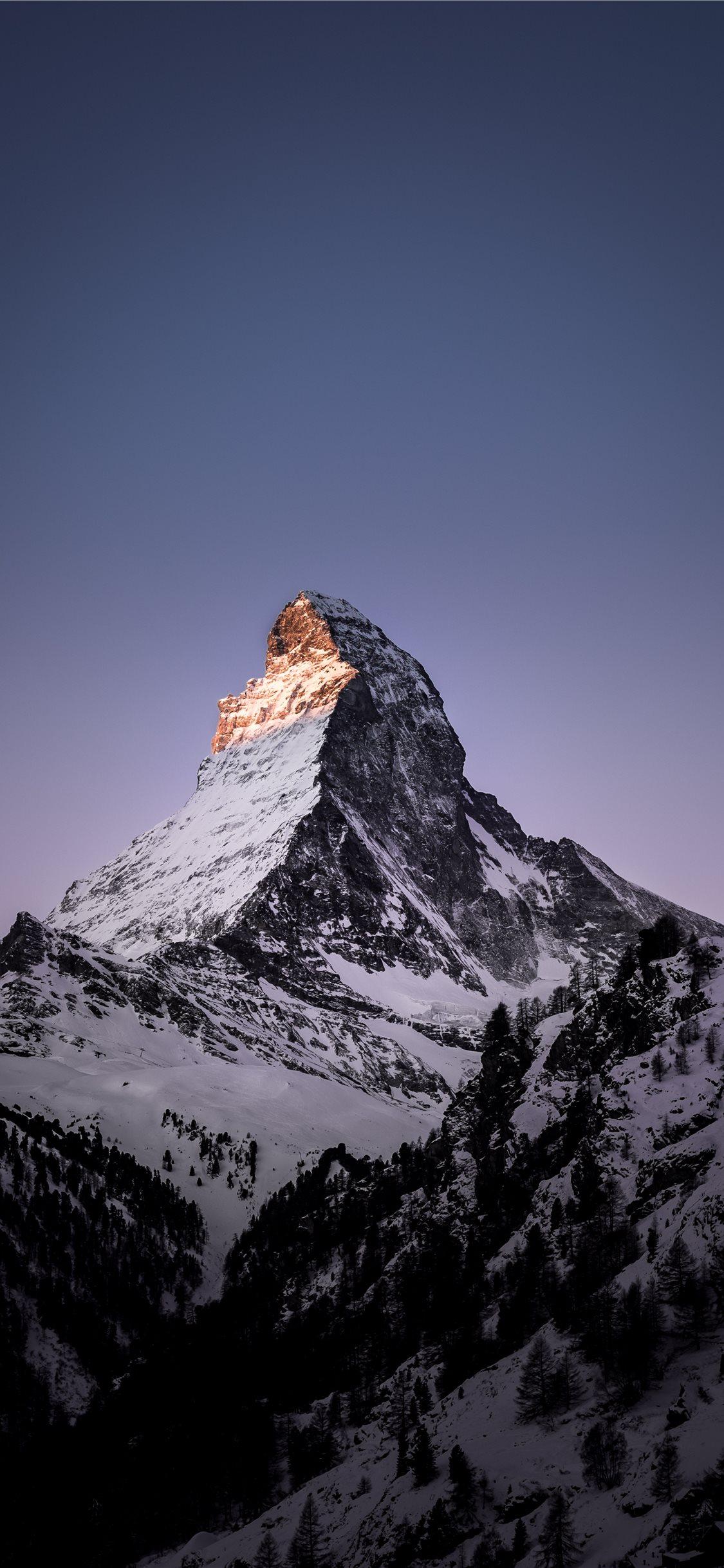 Matterhorn Zermatt Switzerland iPhone X Wallpapers Free ...