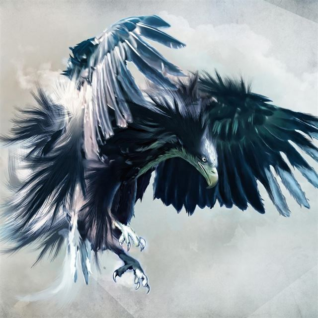 Attacking Falcon iPad wallpaper