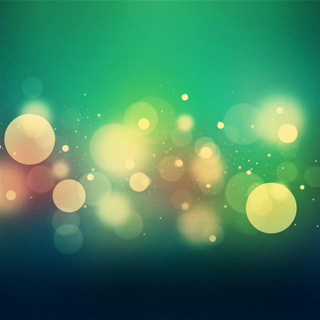 Bokeh Spots iPad wallpaper