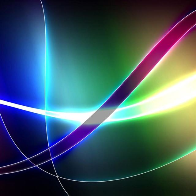 Colorful Swirls iPad wallpaper