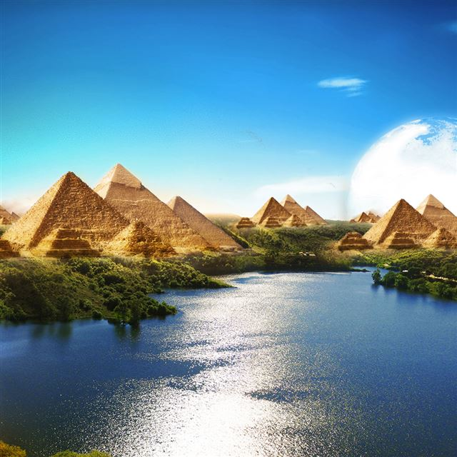 Egyptian Paradise iPad wallpaper