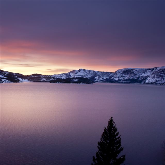 Norwegian Sunrise iPad wallpaper