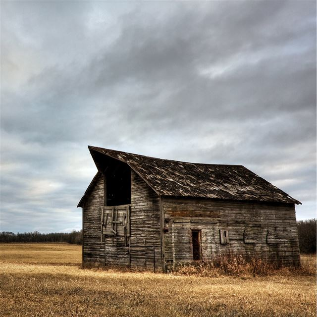 Old Barn iPad wallpaper
